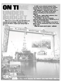 Maritime Reporter Magazine, page 79,  Nov 1983 economical steel construction