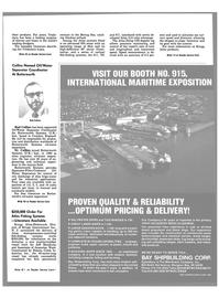 Maritime Reporter Magazine, page 93,  Nov 1983