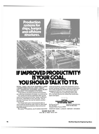 Maritime Reporter Magazine, page 3rd Cover,  Nov 1983 cumbersome and costly equipment