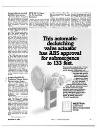 Maritime Reporter Magazine, page 9,  Nov 15, 1983