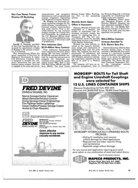 Maritime Reporter Magazine, page 11,  Nov 15, 1983 Connecticut