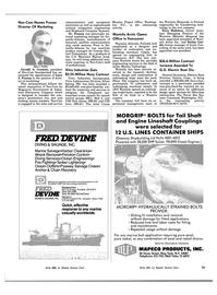 Maritime Reporter Magazine, page 11,  Nov 15, 1983 Connecticut