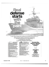 Maritime Reporter Magazine, page 15,  Nov 15, 1983 board maintenance paint