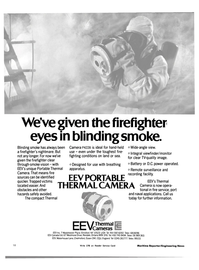 Maritime Reporter Magazine, page 16,  Nov 15, 1983 Portable Thermal Camera