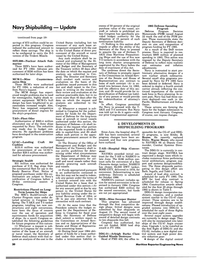 Maritime Reporter Magazine, page 18,  Nov 15, 1983 the DoD review