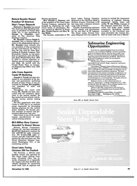 Maritime Reporter Magazine, page 35,  Nov 15, 1983