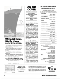Maritime Reporter Magazine, page 2,  Nov 15, 1983 Washington