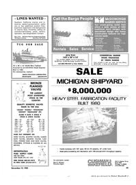 Maritime Reporter Magazine, page 43,  Nov 15, 1983