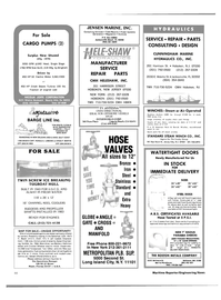 Maritime Reporter Magazine, page 46,  Nov 15, 1983 Maryland
