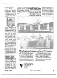 Maritime Reporter Magazine, page 7,  Nov 15, 1983