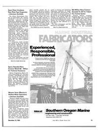 Maritime Reporter Magazine, page 11,  Dec 15, 1983