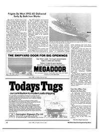 Maritime Reporter Magazine, page 12,  Dec 15, 1983