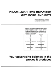 Maritime Reporter Magazine, page 14,  Dec 15, 1983 Chains/Mooring Systems
