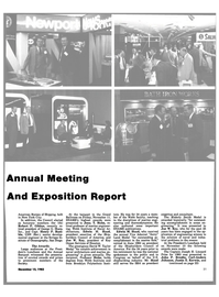 Maritime Reporter Magazine, page 19,  Dec 15, 1983 Henry P. Rum