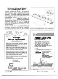 Maritime Reporter Magazine, page 41,  Dec 15, 1983 Oregon
