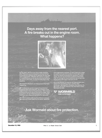 Maritime Reporter Magazine, page 3,  Dec 15, 1983 maintained fire protection systems