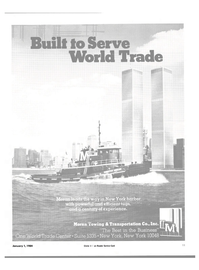Maritime Reporter Magazine, page 9,  Jan 1984 Transportation Co. Inc.