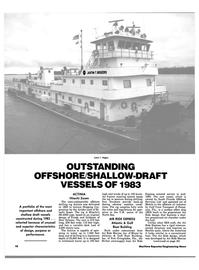 Maritime Reporter Magazine, page 16,  Jan 1984