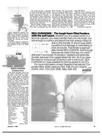 Maritime Reporter Magazine, page 41,  Jan 1984