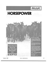 Maritime Reporter Magazine, page 47,  Jan 1984