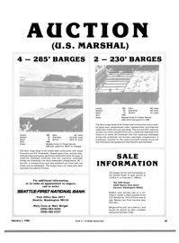 Maritime Reporter Magazine, page 57,  Jan 1984
