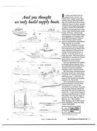 Maritime Reporter Magazine, page 62,  Jan 1984 metal cutting robots