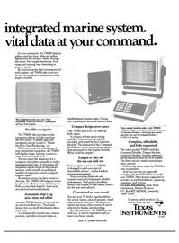 Maritime Reporter Magazine, page 23,  Jan 15, 1984 Texas Instruments