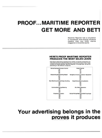 Maritime Reporter Magazine, page 34,  Jan 15, 1984 Chains/Mooring Systems