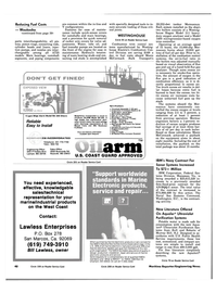Maritime Reporter Magazine, page 38,  Jan 15, 1984 Massachusetts
