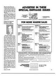 Maritime Reporter Magazine, page 47,  Jan 15, 1984 New York
