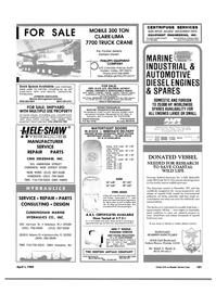 Maritime Reporter Magazine, page 99,  Apr 1984