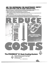 Maritime Reporter Magazine, page 3rd Cover,  Apr 1984 U.S. Naval and U.S. Coast Guard