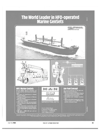 Maritime Reporter Magazine, page 21,  Apr 1984 American M.A.N. Corporation West Coast Office