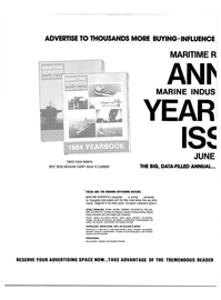 Maritime Reporter Magazine, page 56,  Apr 1984