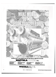 Maritime Reporter Magazine, page 62,  Apr 1984 WARTSILA INC. US Headquarters