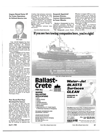 Maritime Reporter Magazine, page 65,  Apr 1984 New Jersey