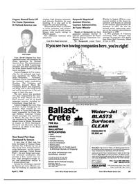 Maritime Reporter Magazine, page 65,  Apr 1984