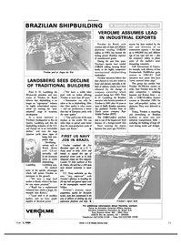 Maritime Reporter Magazine, page 69,  Apr 1984 road mining trucks