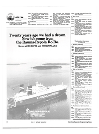 Maritime Reporter Magazine, page 76,  Apr 1984 Mobile Offshore Drilling Unit for Heavy Ice Cover