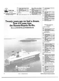 Maritime Reporter Magazine, page 76,  Apr 1984
