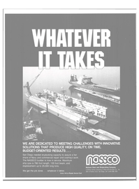 Maritime Reporter Magazine, page 79,  Apr 1984 Shipbuilding Company