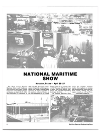 Maritime Reporter Magazine, page 80,  Apr 1984 Exhibition Center