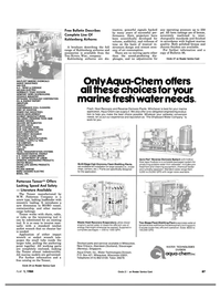 Maritime Reporter Magazine, page 85,  Apr 1984