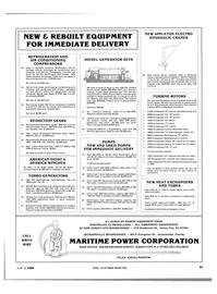 Maritime Reporter Magazine, page 95,  Apr 1984