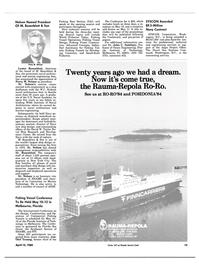 Maritime Reporter Magazine, page 11,  Apr 15, 1984