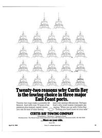 Maritime Reporter Magazine, page 13,  Apr 15, 1984
