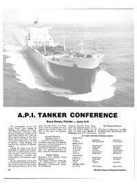 Maritime Reporter Magazine, page 14,  Apr 15, 1984