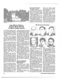 Maritime Reporter Magazine, page 16,  Apr 15, 1984 Virginia