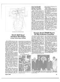 Maritime Reporter Magazine, page 17,  Apr 15, 1984 William C. Ward Jr.