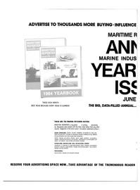 Maritime Reporter Magazine, page 24,  Apr 15, 1984